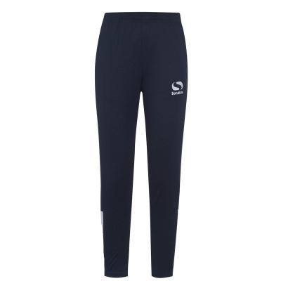 Pantaloni antrenament sport Ghete fotbal Sondico Strike pentru baietei bleumarin