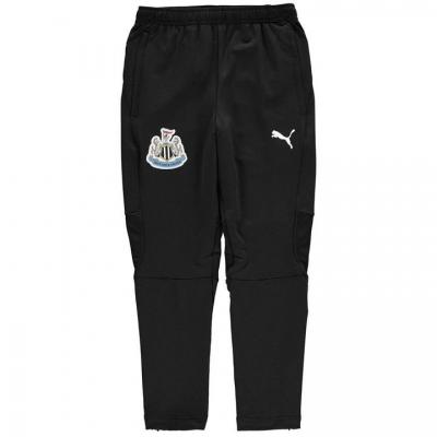 Pantaloni antrenament sport Puma Newcastle United 2018 2019 pentru copii negru alb
