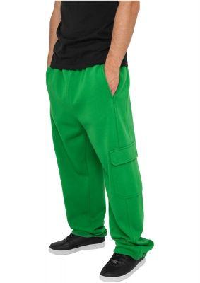 Pantaloni barbati trening cargo verde Urban Classics