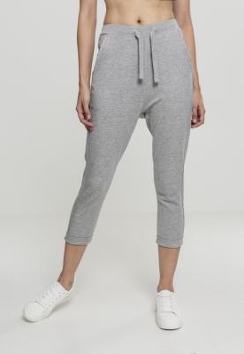 Pantaloni bumbac Open pentru Femei gri Urban Classics
