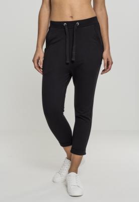 Pantaloni bumbac Open pentru Femei negru Urban Classics
