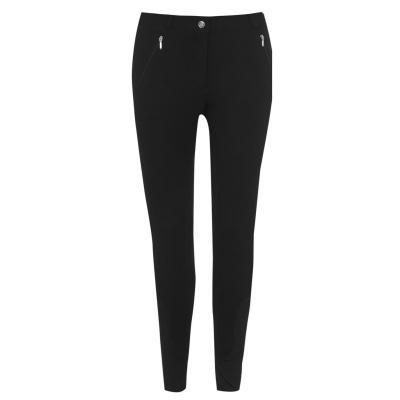 Pantaloni calarie Requisite clasic pentru Femei negru
