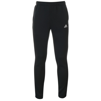 Pantaloni caldurosi adidas Linear Logo pentru femei negru alb