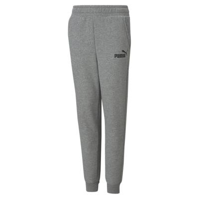 Pantaloni caldurosi Puma conici pentru baietei gri