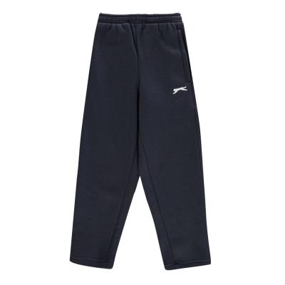 Pantaloni caldurosi Slazenger fara mansete pentru baietei bleumarin