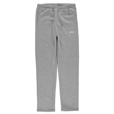 Pantaloni caldurosi Slazenger fara mansete pentru baietei gri