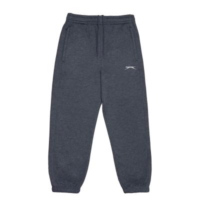 Pantaloni caldurosi Slazenger pentru copii gri carbune