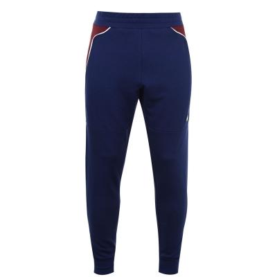 Pantaloni caldurosi Tommy Sport Tommy Sport cu mansete gri albastru