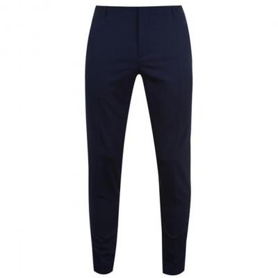 Pantaloni Calvin Klein Calvin Tailored Wool Suit pentru Barbati albastru