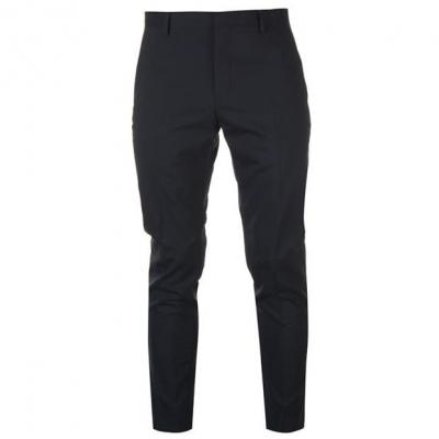 Pantaloni Calvin Klein Calvin Tailored Wool Suit pentru Barbati bleumarin