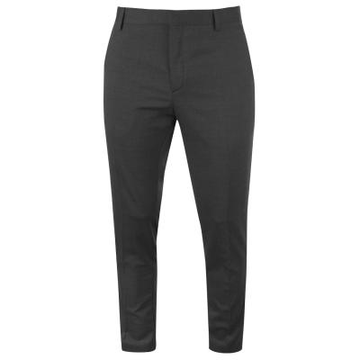 Pantaloni Calvin Klein Calvin Tailored Wool Suit pentru Barbati gri