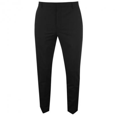 Pantaloni Calvin Klein Calvin Tailored Wool Suit pentru Barbati negru