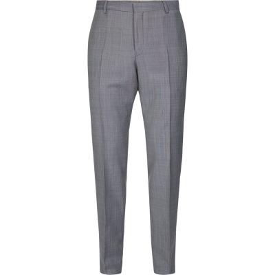 Pantaloni Calvin Klein Wool Blend gri