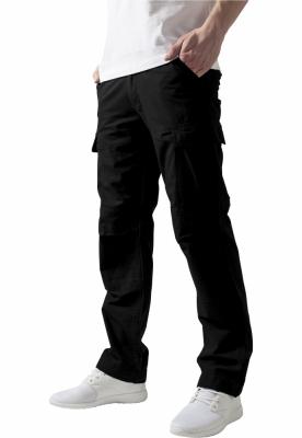 Pantaloni camuflaj barbati negru Urban Classics