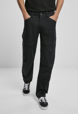 Pantaloni Cargo Adven Slim Fit negru Brandit
