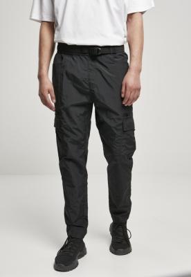 Pantaloni Cargo ajustabil nailon negru Urban Classics