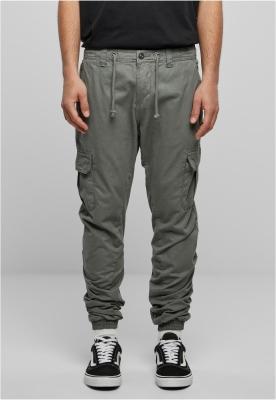 Pantaloni cargo lungi gri inchis Urban Classics