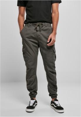 Pantaloni cargo lungi gri Urban Classics