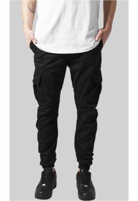 Pantaloni cargo lungi negru Urban Classics