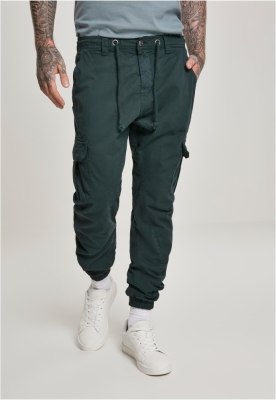 Pantaloni cargo lungi verde Urban Classics