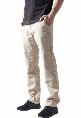 Pantaloni chino barbati bej Urban Classics
