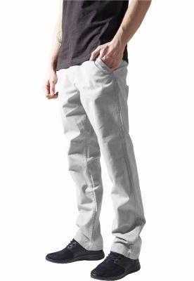 Pantaloni chino barbati gri deschis Urban Classics