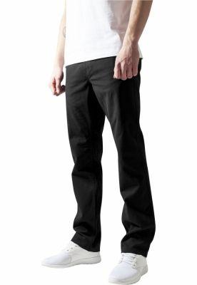 Pantaloni chino barbati negru Urban Classics