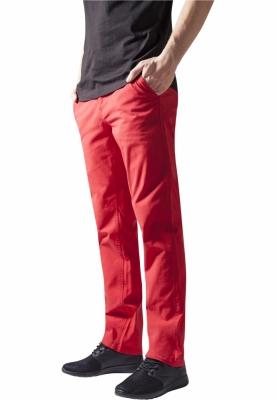 Pantaloni chino barbati rosu Urban Classics