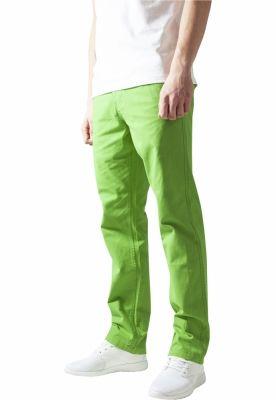 Pantaloni chino barbati verde lime Urban Classics