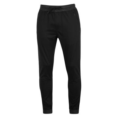 Pantaloni chino No Fear cu talie elastica pentru Barbati negru