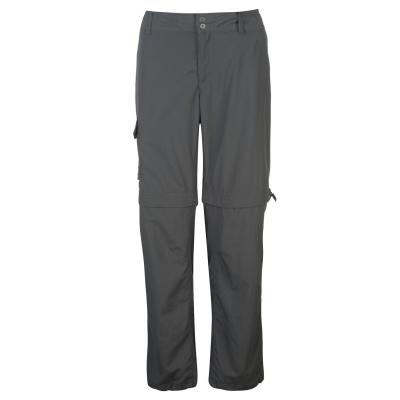 Pantaloni Columbia Silver Ridge cu fermoar Convertible pentru Femei gri