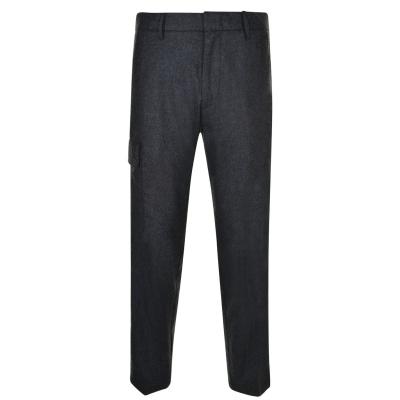 Pantaloni Combat DKNY Tape smoke deschis
