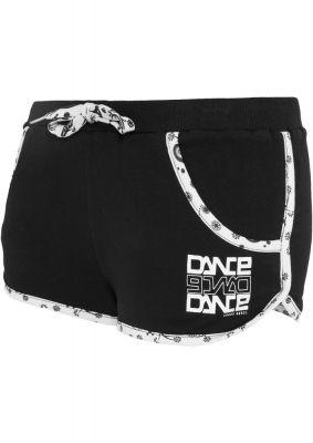 Pantaloni scurti sport cu buzunare pentru femei negru Urban Dance