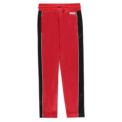 Pantaloni de trening Converse pentru fete pentru Bebelusi enamel rosu
