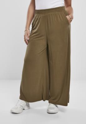 Pantaloni Culottes Modal pentru Femei oliv Urban Classics