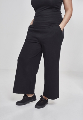 Pantaloni Culottes pentru Femei negru Urban Classics
