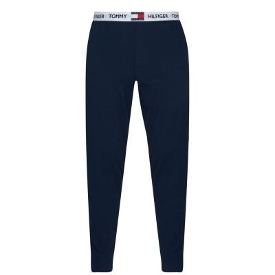 Pantaloni de casa Tommy Bodywear bleumarin blazer