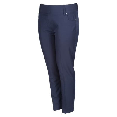 Pantaloni de golf Island verde pentru Femei inchis bleumarin
