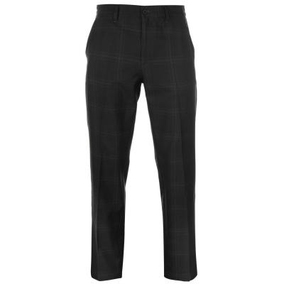 Pantaloni de golf Slazenger Print pentru Barbati gri carbune