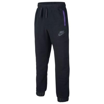 Pantaloni jogging Nike iarna pentru baietei negru