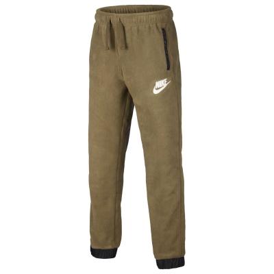 Pantaloni jogging Nike iarna pentru baietei verde