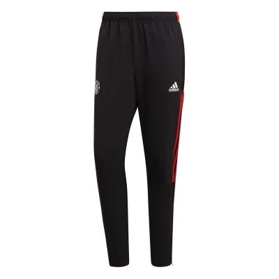 Pantaloni de trening adidas Manchester United Presentation 2021 2022 negru