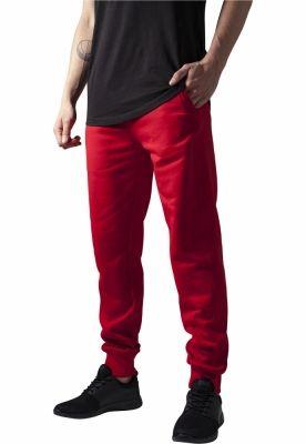 Pantaloni de trening barbati fit rosu Urban Classics