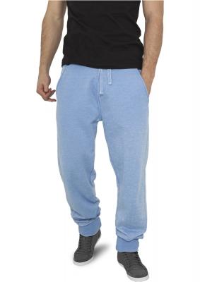 Pantaloni de trening cu elastic jos albastru-deschis Urban Classics