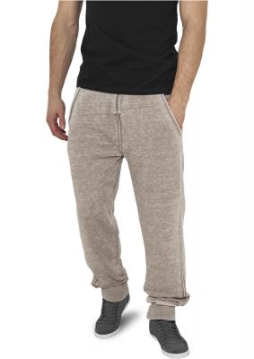Pantaloni de trening cu elastic jos maro-deschis Urban Classics