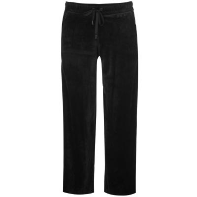 Pantaloni de trening DKNY Wide Leg Velour pentru Femei