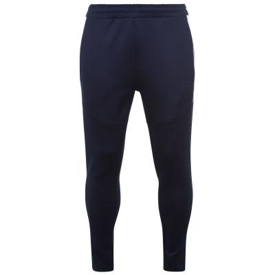 Pantaloni de trening Hardcore Hudson bleumarin inchis rosu