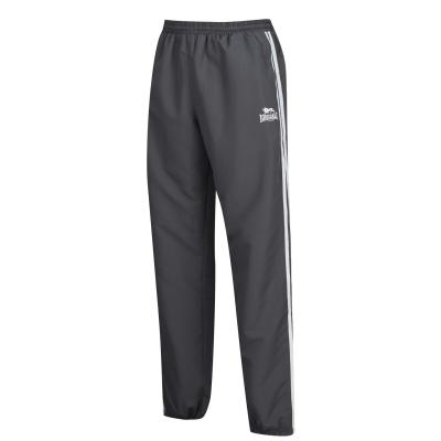 Pantaloni de trening Lonsdale 2 cu dungi pentru Barbati gri carbune alb