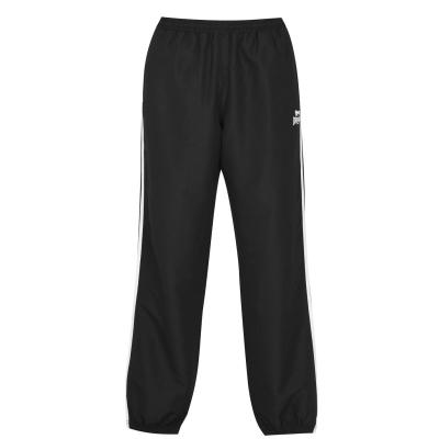 Pantaloni de trening Lonsdale 2 cu dungi pentru Barbati negru gri carbune