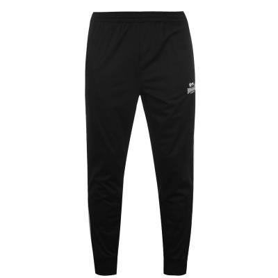 Pantaloni de trening Lonsdale pentru Barbati negru alb